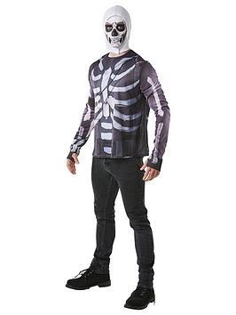 Fortnite   Adult Skull Trooper Top & Snood