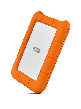 Lacie   1Tb Rugged Mini Hard Drive  - Hard Drive Only