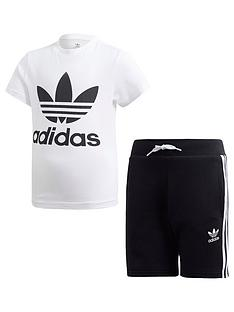 adidas-originals-boys-shorts-and-short-sleeve-t-shirt-set-whiteblack