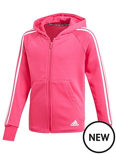 adidas-girls-3-stripe-full-zip-hoodienbsp-nbspmagenta