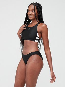 Adidas   3 Stripe Bikini - Black