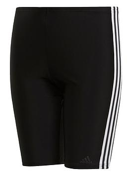 Adidas   Boys Fit Jam Swim Shorts - Black