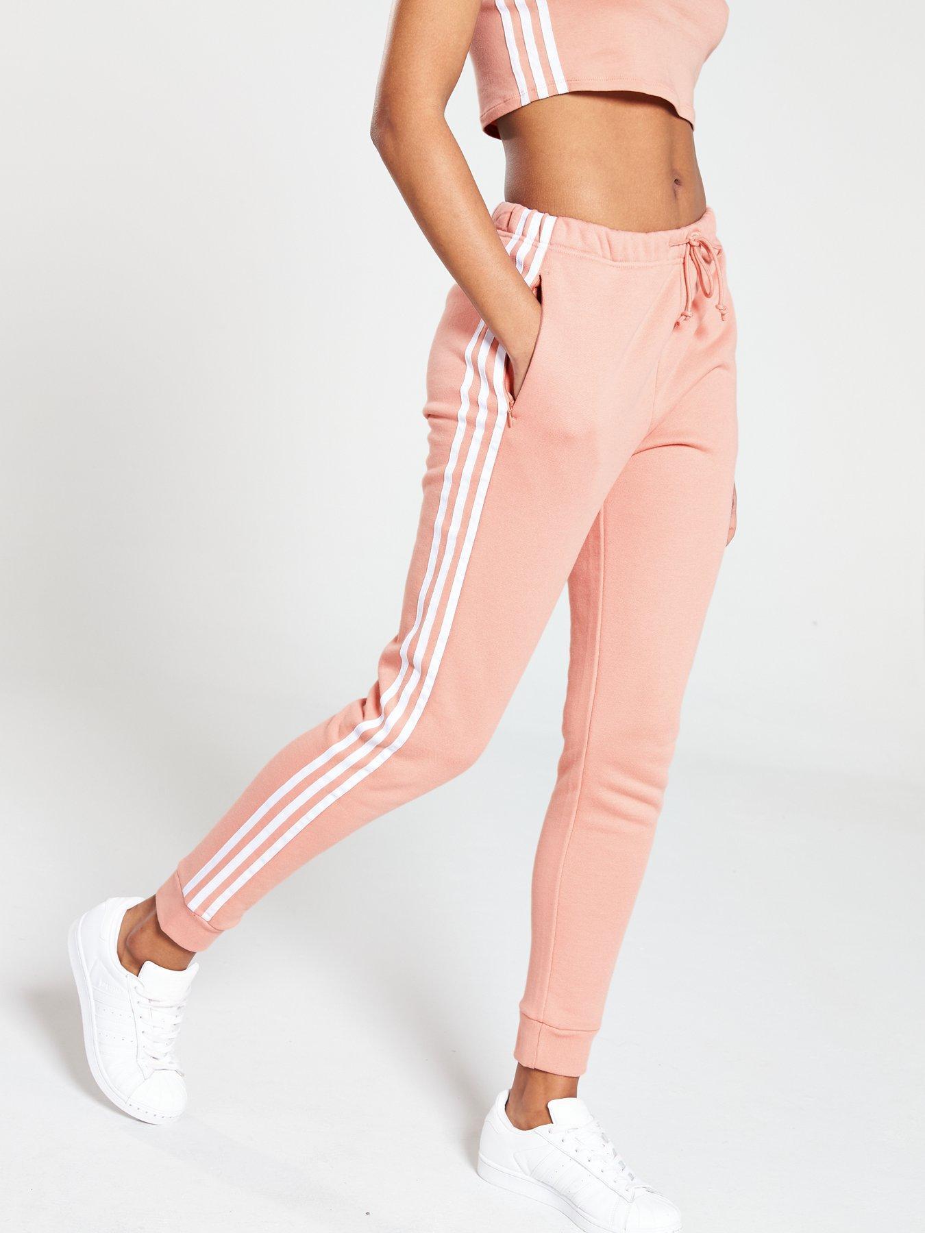 adidas Originals Regular Cuffed Track Pants Pink