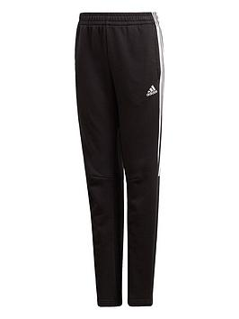 Adidas   Boys 3 Stripe Tiro Pants - Black