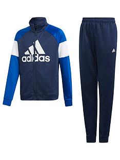 cheap for discount fd1c5 8bf34 adidas Boys Tracksuit - Navy
