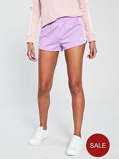 adidas-originals-3-stripenbspshort-lilacnbsp