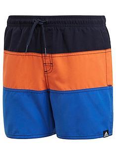 adidas-boys-colourblock-swim-short