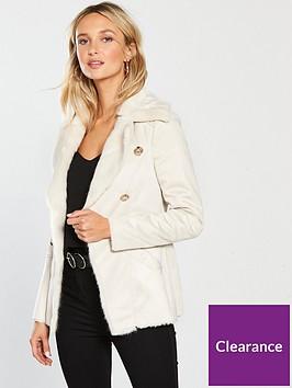 river-island-river-island-faux-fur-button-jacket-cream