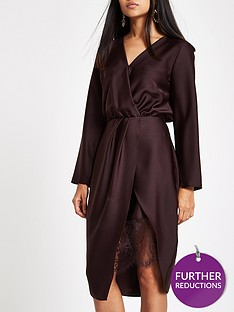 ri-petite-wrap-front-dress-plum