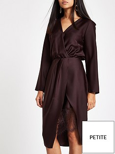 ri-petite-wrap-front-dress-plum