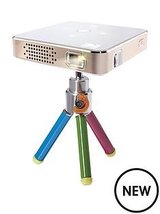 kodak-kodak-pocket-portable-projector-heavy-duty-mini-tripod-with-pan-tilt-silver