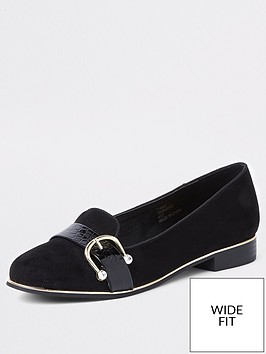 river-island-wide-fit-loafers-black