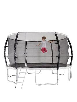 sportspower-10ft-titan-super-tube-trampoline-enclosure-ladder