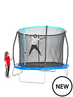 8ft-trampoline-with-easi-store-folding-enclosure-flip-pad