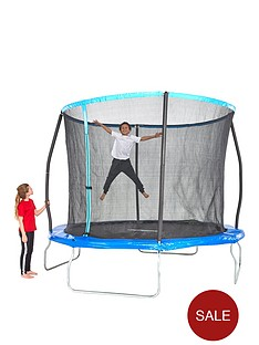 sportspower-8ft-trampoline-with-easi-store-folding-enclosure-amp-flip-pad