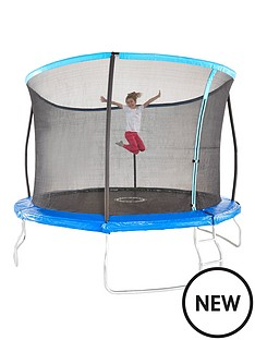10ft-trampoline-with-easi-store-folding-enclosure-flip-pad