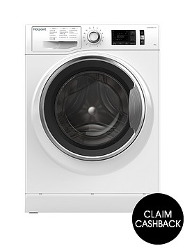 hotpoint-active-care-nm111045wca-10kg-load-1400-spin-washing-machine-white