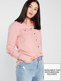 superdry-xenia-acid-wash-shirt-pink