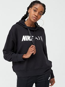 Nike Nike Nsw Air Pullover Hoodie - Black Picture