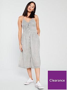 superdry-jayde-tie-front-midi-dress