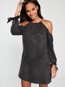 superdry-eden-cold-shoulder-dress