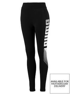 puma-essentials-graphic-leggings-blackwhitenbsp