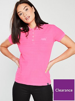 superdry-cotton-polo-top-pink