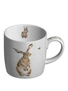 royal-worcester-wrendale-the-hare-and-the-bee-mug
