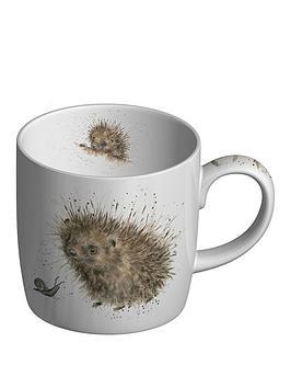Royal Worcester Royal Worcester Wrendale Prickled Tink Hedgehog Mug Picture
