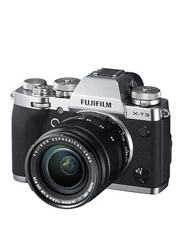 Fujifilm    X-T3 With Xf18-55Mm Lens (Silver)