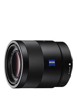 Sony Sony Sel55F18Z Sonnar T* Fe 55Mm F1.8 Za Lens - Black Picture