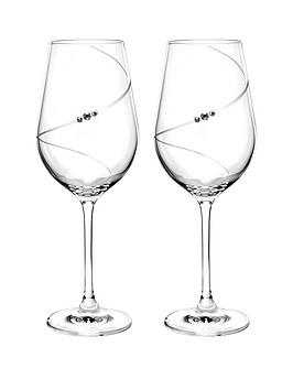 Portmeirion Portmeirion Auris Red Wine Glasses With Swarovski Crystals  ... Picture