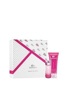 lacoste-lacoste-touch-of-pink-30ml-eau-de-toilette-100ml-body-lotion-gift-set