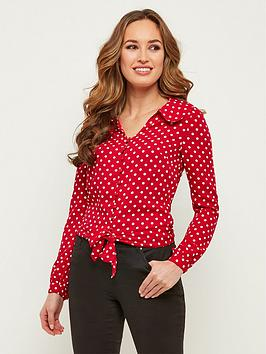 joe-browns-popping-polka-dot-blouse