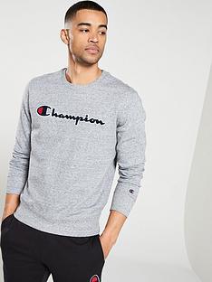champion-crew-neck-sweatshirt-grey