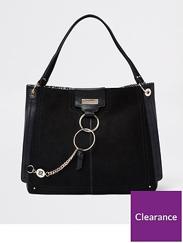 river-island-river-island-coin-loop-slouch-bag-black