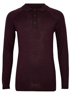 river-island-boys-long-sleeve-polo-shirt-berry