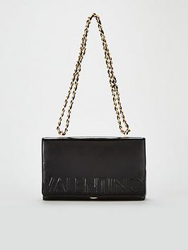 717ce6ee6d8 Valentino By Mario Valentino Icon Medium Shoulder Cross Body Bag - Black
