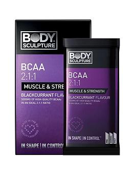 Body Sculpture   Bcaa 2:1:1 Blackcurrant 10 X 6G Sachet