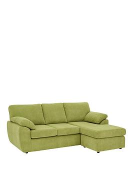 Very Dixie Fabric 3 Seater Reversible Corner Chaise Sofa Picture