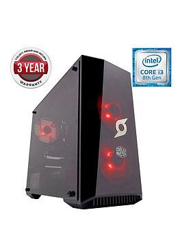 zoostorm-stormforce-onyx-intel-core-i3nbspgeforce-gtx-1050-graphicsnbsp8gb-ramnbsp1tb-hdd-amp-120gb-ssd-gaming-pc