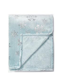 Very Snowdrop Throw Picture