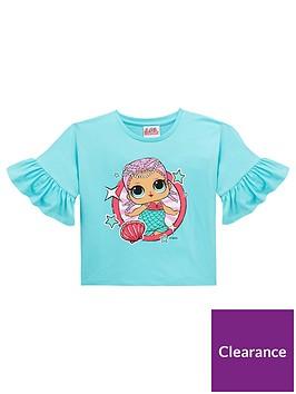 lol-surprise-lolnbspgirls-batwingnbspshort-sleevenbspt-shirt-aqua