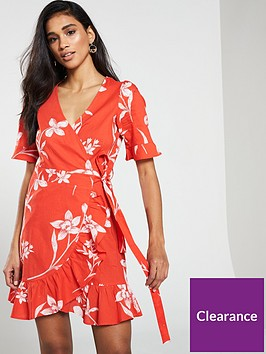v-by-very-cotton-printed-wrap-dress
