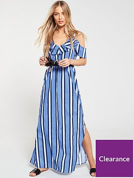v-by-very-cotton-cold-shoulder-maxi-stripe