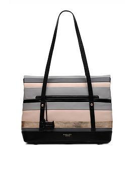radley-eaton-hall-medium-tote-ew-shoulder-flapover-bag-charcoal