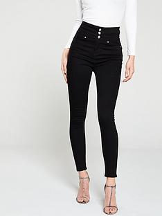 v-by-very-macy-high-waisted-skinny-jeans-black