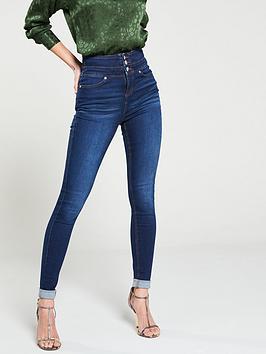 v-by-very-macy-high-waisted-skinny-jeans-dark-wash