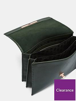 e97650c05ef3 ... Ted Baker Jessi Concertina Leather Shoulder Bag. View larger