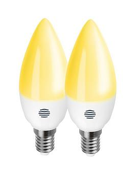 Hive Hive Active Light E14 Dimmable Candlelight Bulbs - Twin Pack Picture